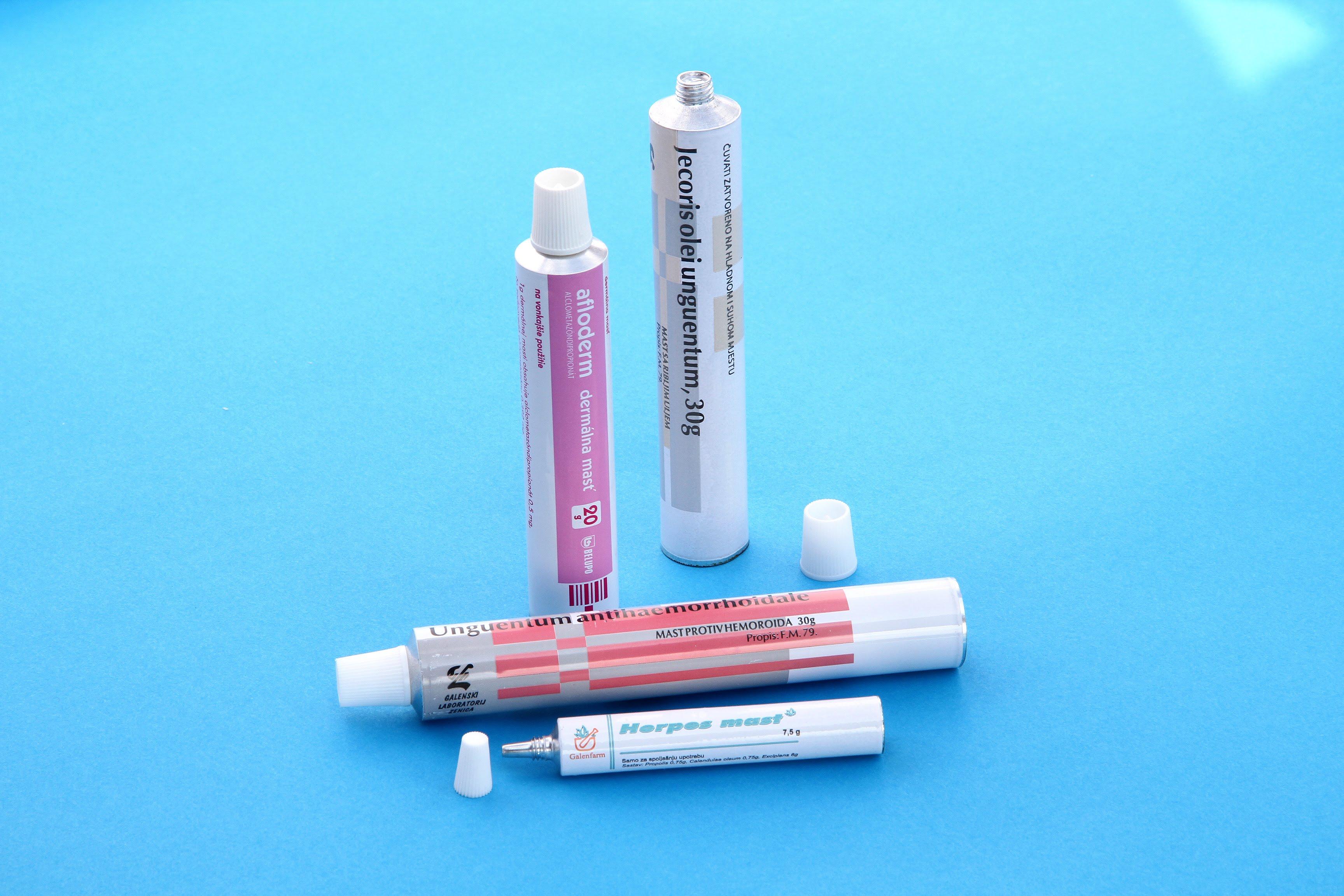 Aluminijske tube sa štampom po vašem izboru
